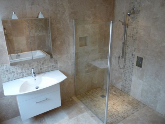 Wet room installation service bathroom installer in hull for Wet floor bathroom designs